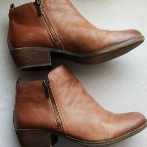 Lucky brand  BASEL brown ankle boots size 8.5